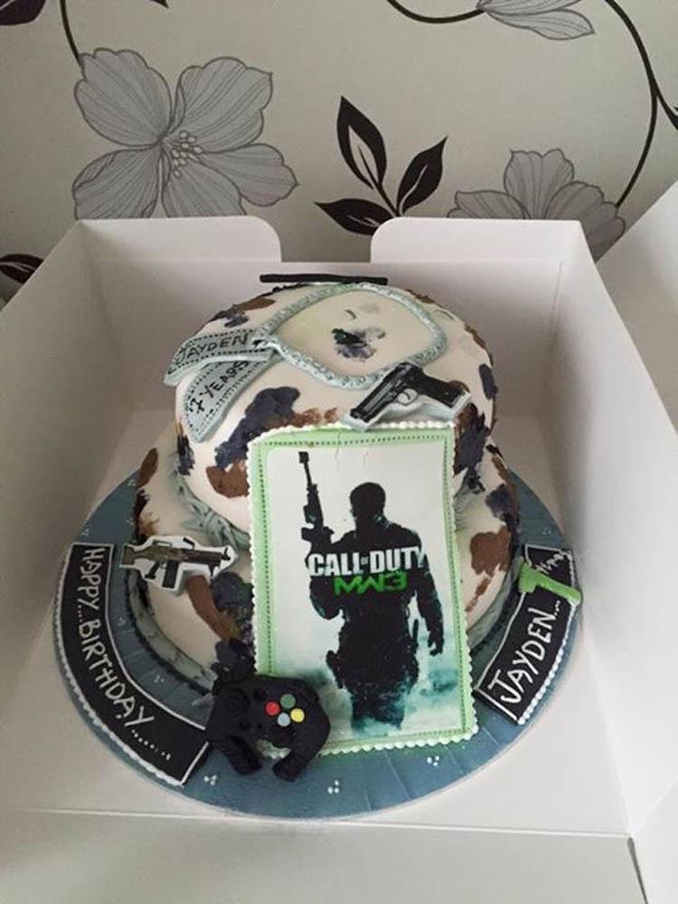 Pleasing Novelty Cakes For Boys Men Gordons Celebration Cakes Personalised Birthday Cards Paralily Jamesorg