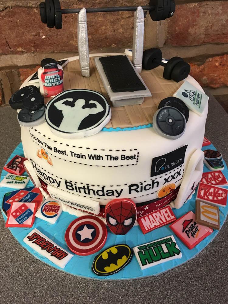 Marvelous Novelty Cakes For Boys Men Gordons Celebration Cakes Personalised Birthday Cards Veneteletsinfo